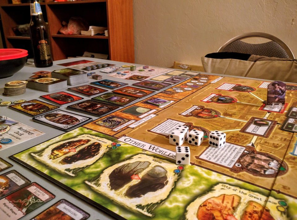 Arkham Horror board
