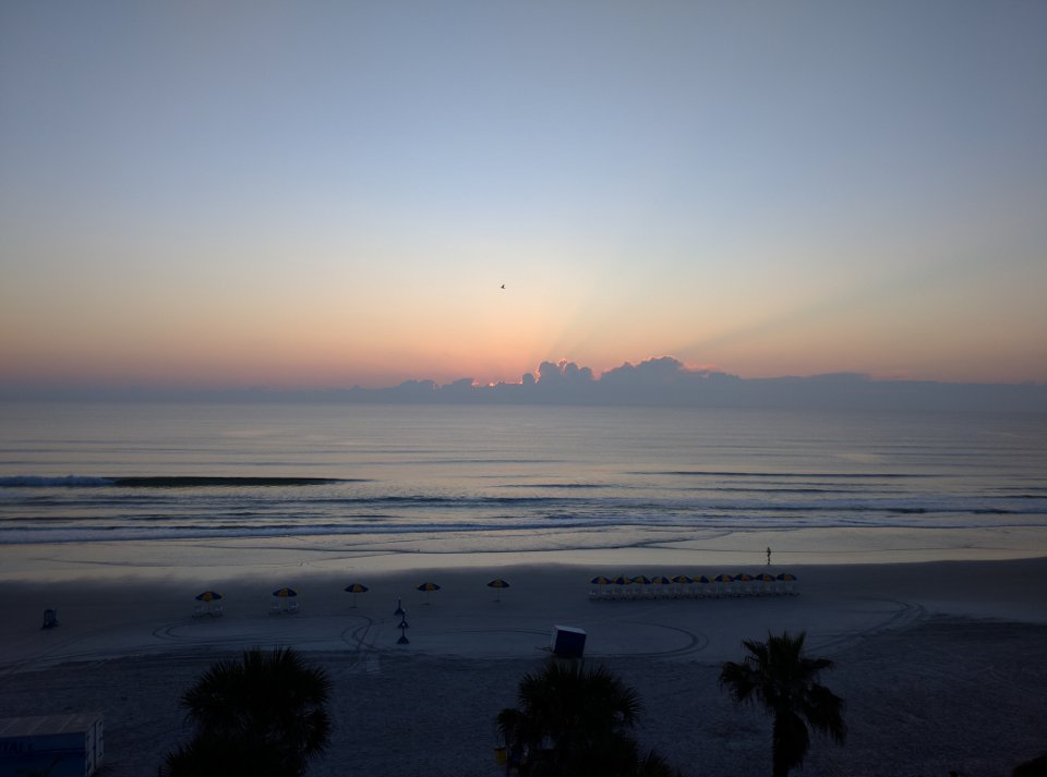 The Atlantic Beach at Sunrise