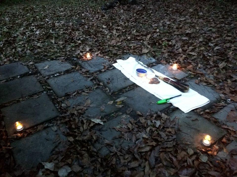 Outdoor Ritual Space
